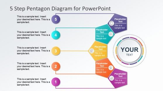 5 Steps Powerpoint Templates & Diagrams