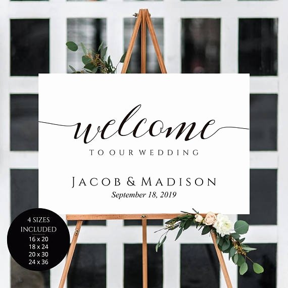 5 Wedding Sign Templates Pdf