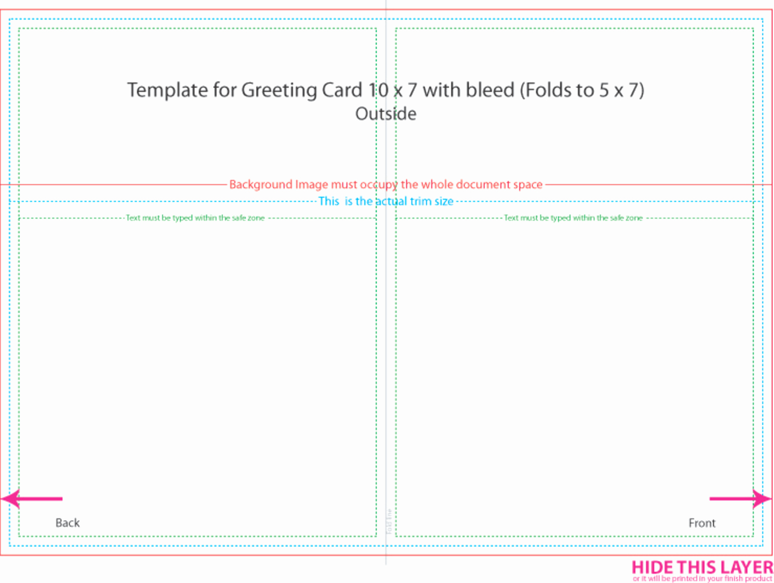 5 X 7 Postcard Template Bing Images