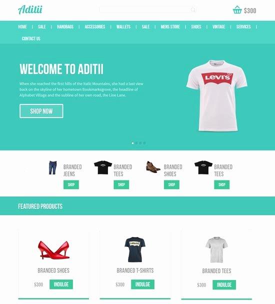 50 Best E Merce Website Templates Free & Premium