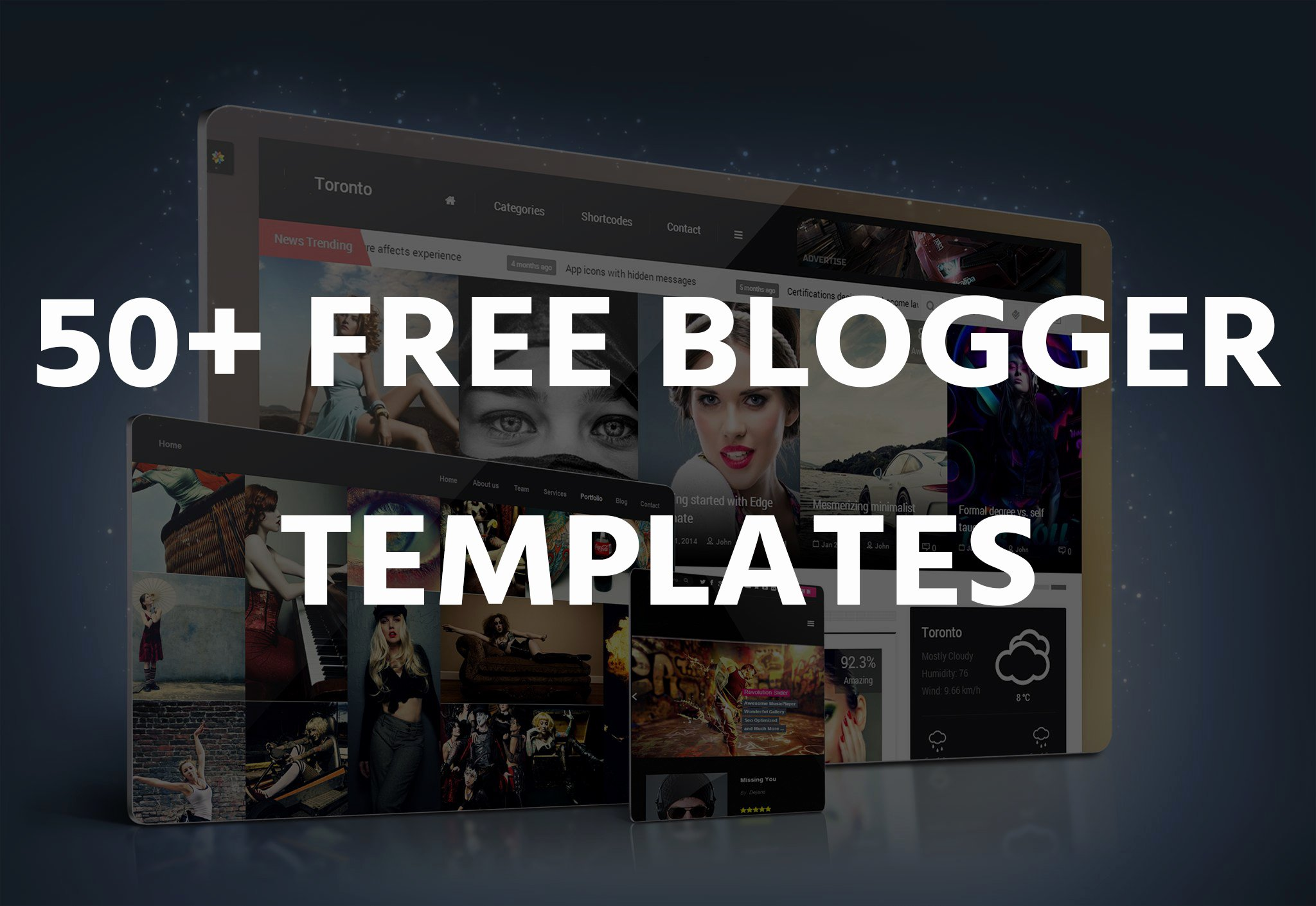 50 Best Free Blogger Templates 2017 Oddthemes Blog