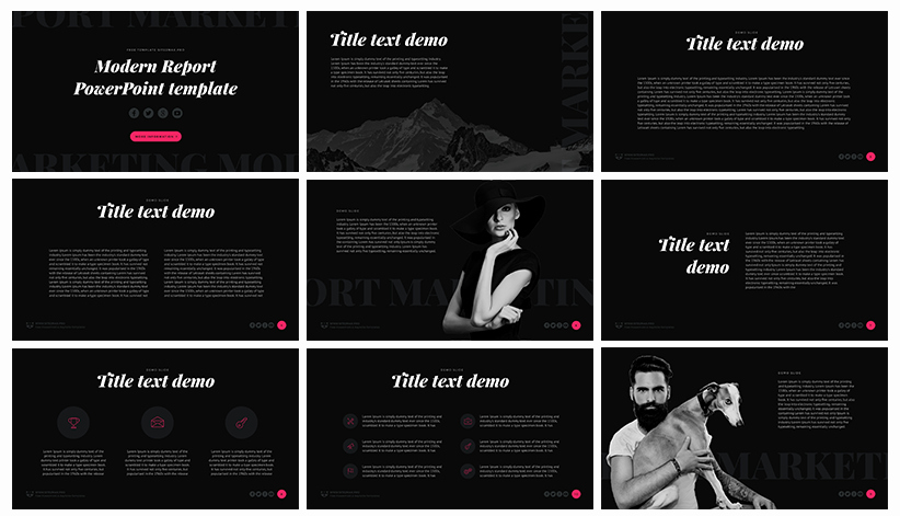 50 Best Free Cool Powerpoint Templates Of 2018 Updated
