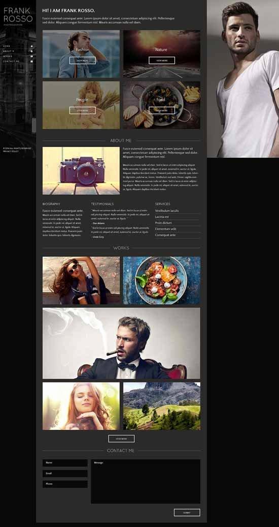 50 Best Graphy Website Templates Free & Premium