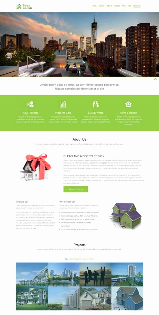 50 Best Real Estate Website Templates Free & Premium