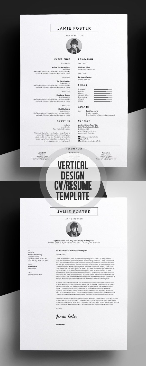 50 Best Resume Templates for 2018 Design