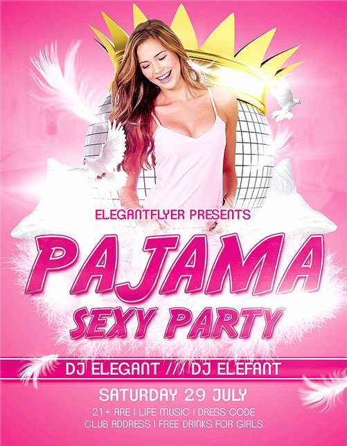 50 Free & Premium Psd themed Party Flyer Templates