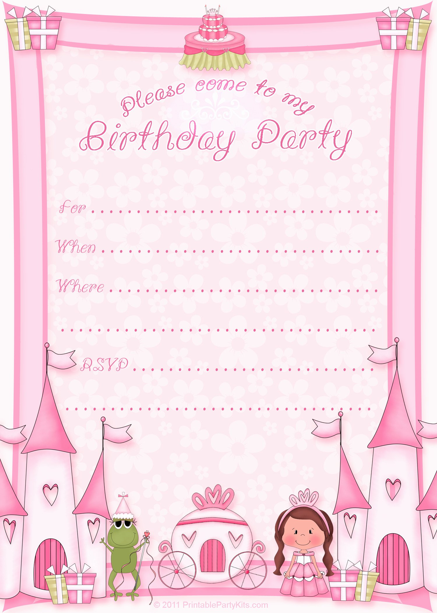 50 Free Birthday Invitation Templates – You Will Love