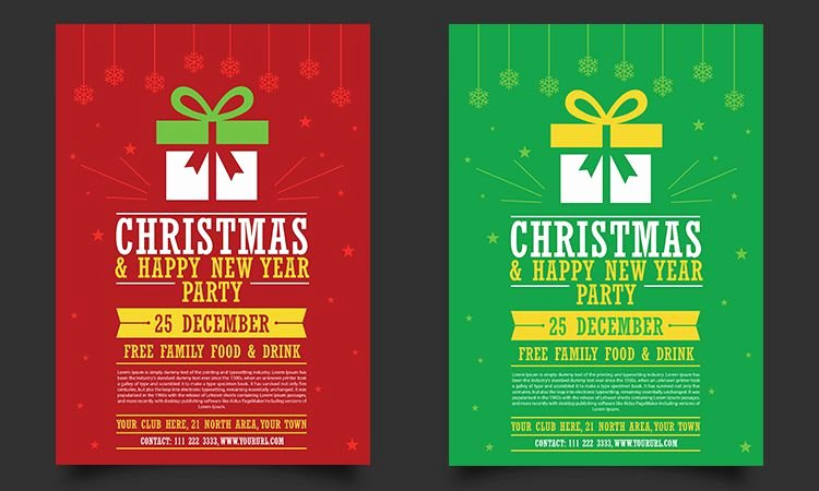50 Free Christmas Templates & Resources for Designers