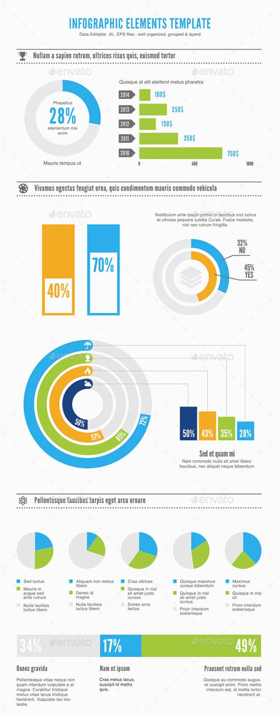 50 Free Infographic Templates Psd Download