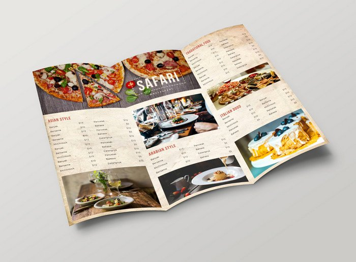 50 Free Psd Restaurant Flyer Menu Templates