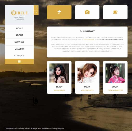 50 Free Responsive HTML5 Css3 Website Templates