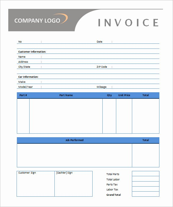 50 Generic Invoice Template to Ease the Invoice Ideas
