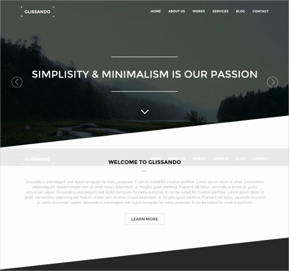 50 HTML5 Page themes & Templates