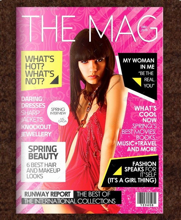 50 Magazine Covers Designs Free Psd Ai Vector Eps