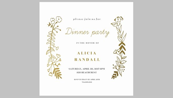 50 Printable Dinner Invitation Templates Psd Ai