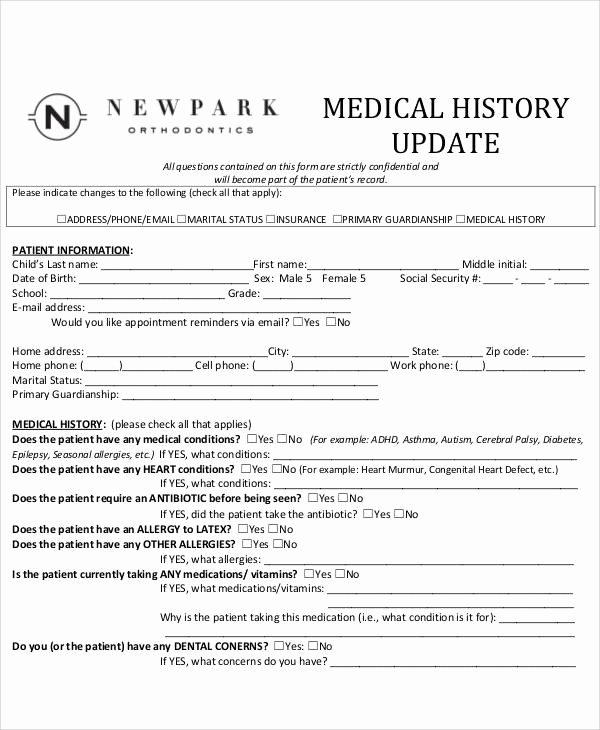 50 Sample Medical forms