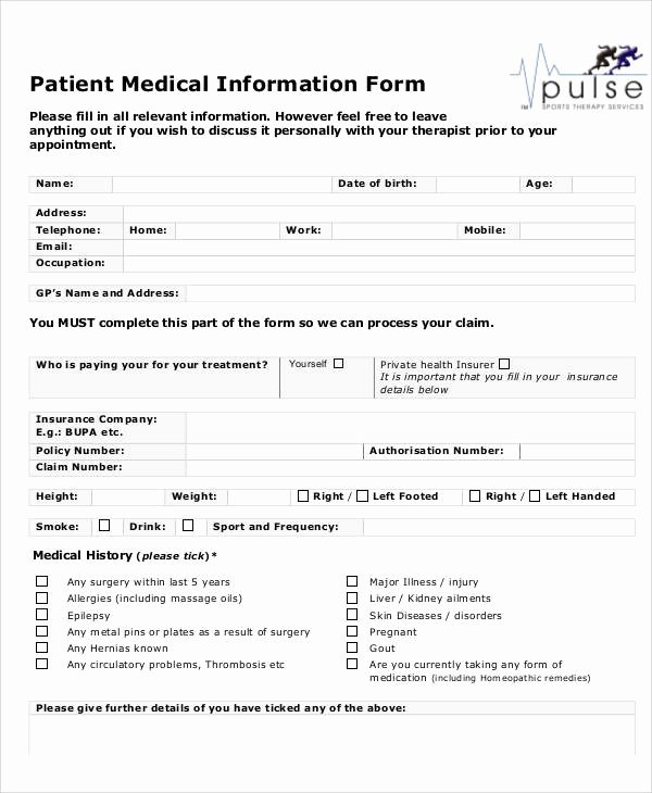 50 Sample Medical forms