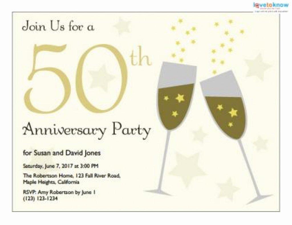 50th Anniversary Invitations Free Cobypic