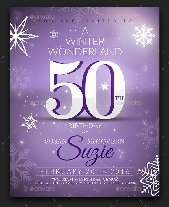 50th Birthday Invitation Template Free – orderecigsjuicefo