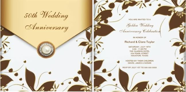 50th Wedding Anniversary Invitations – Plete Guide