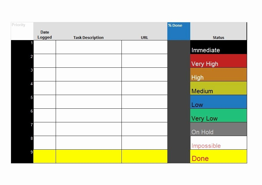 51 Free Printable to Do List & Checklist Templates Excel