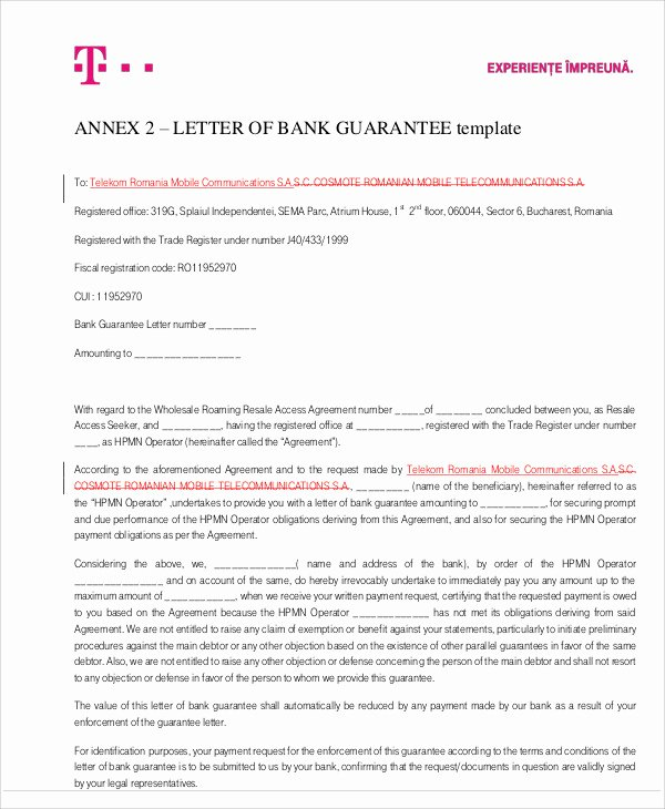 51 Guarantee Letter Samples – Pdf