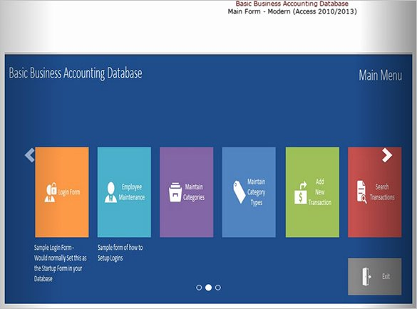 51 Microsoft Access Templates – Free Samples Examples