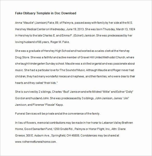 51 Obituary Templates Doc Pdf Psd