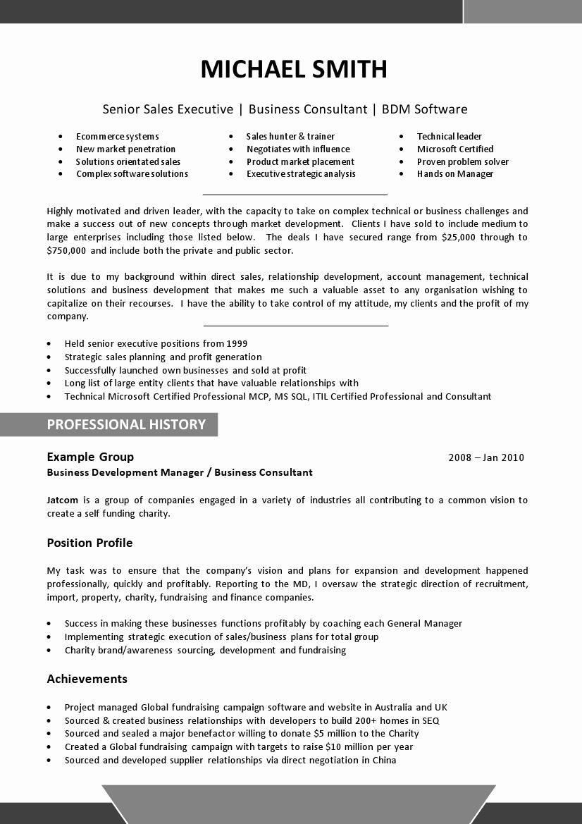 52 Resume Template Resume Templates Resume Cv Example