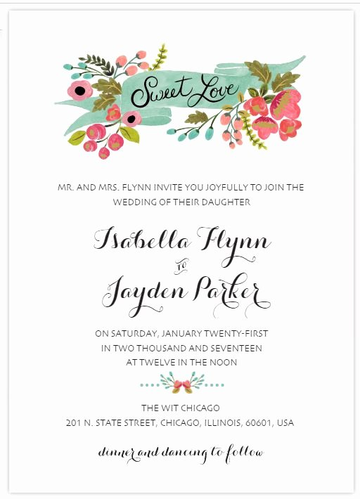 529 Free Wedding Invitation Templates You Can Customize