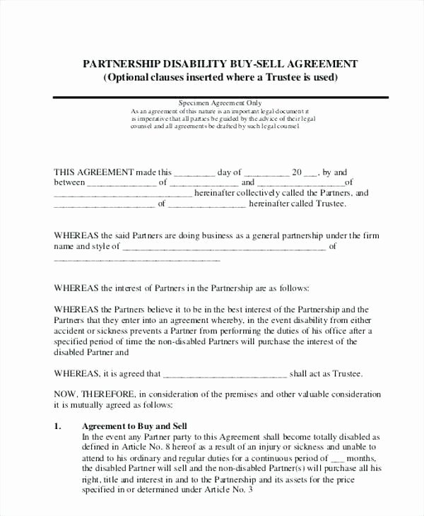 53 Awesome Buyout Agreement Sample
