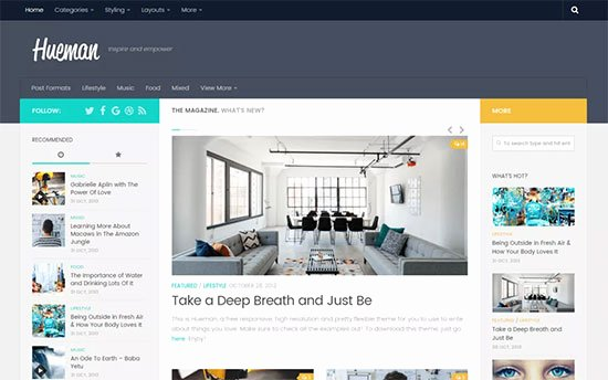 53 Best Free Wordpress Blog themes for 2018