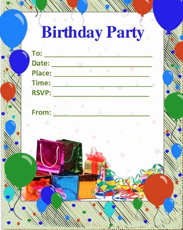 53 Birthday Invitation Templates Psd Ai
