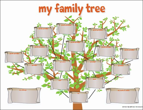 53 Family Tree Templates