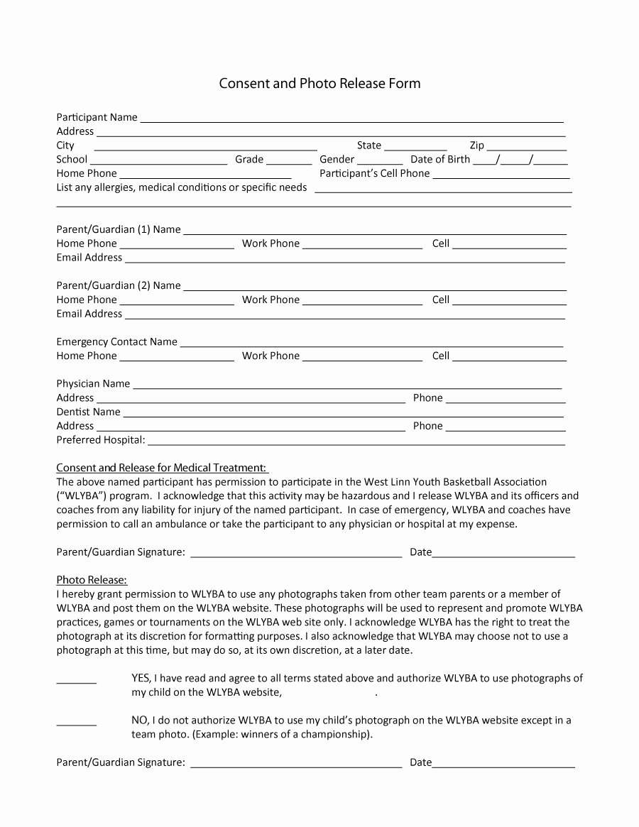 53 Free Release form Templates [word Pdf