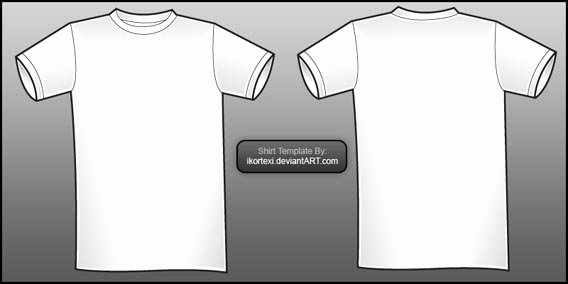 54 Blank T Shirt Template Examples to Download Vector and