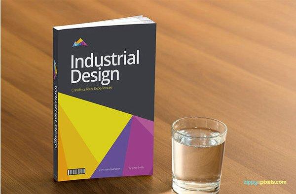 54 Book Cover Design Templates Psd Illustration