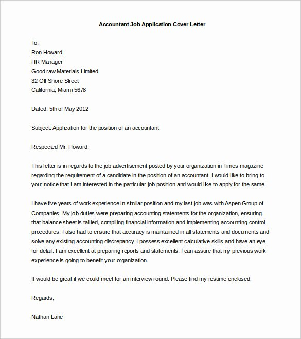 54 Free Cover Letter Templates Pdf Doc