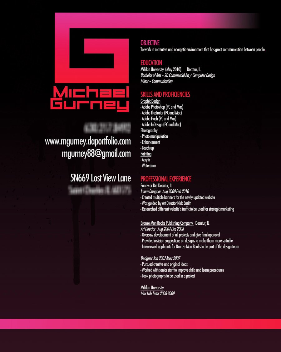 54 Impressive and Well Designed Resume Examples for