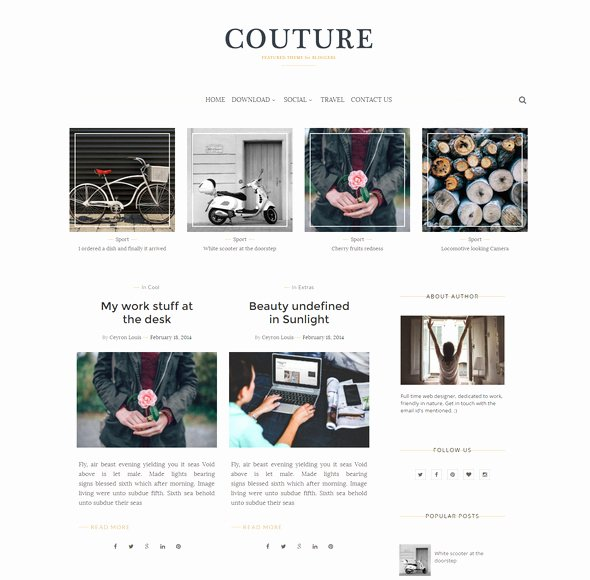 55 Best Free Responsive Blogger Templates 2018