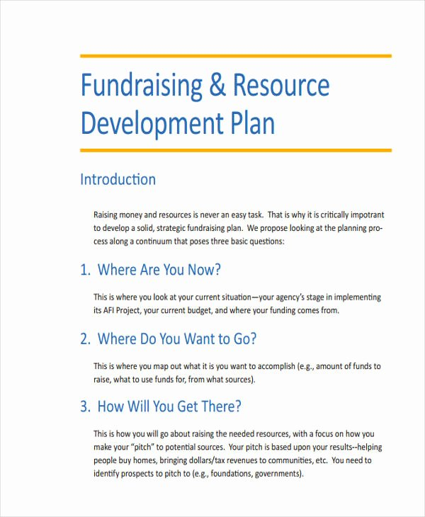 56 Development Plan Examples & Samples Pdf Word Pages