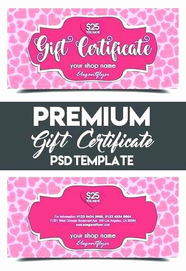 57 Good Shopping Spree Certificate Template
