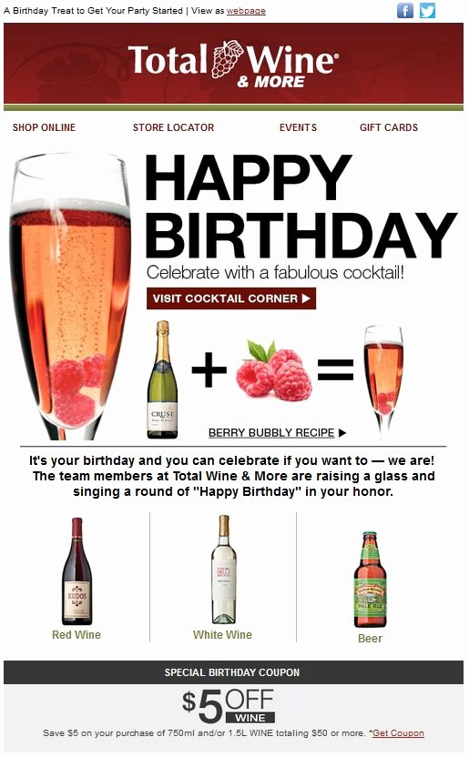 58 Best Birthday Emails Images On Pinterest