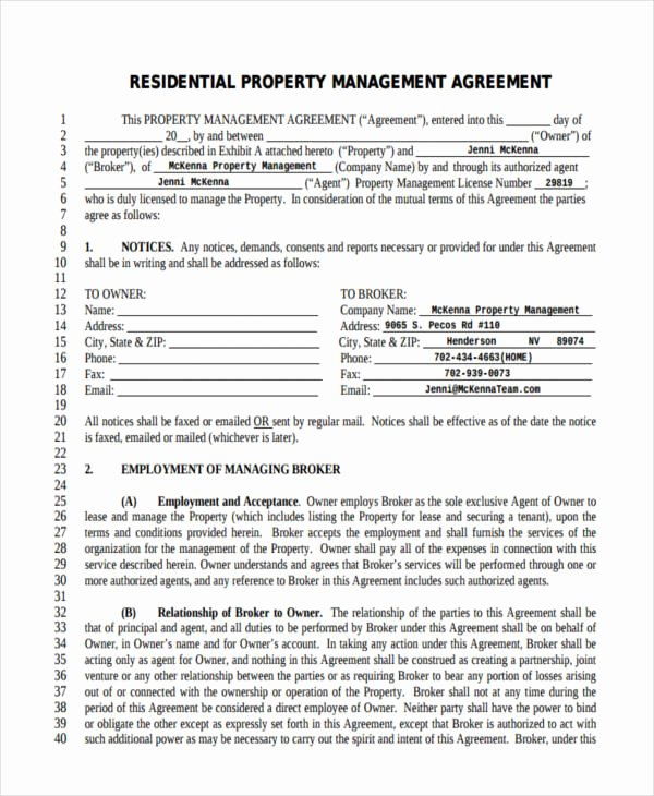 58 Management Agreement Examples and Samples