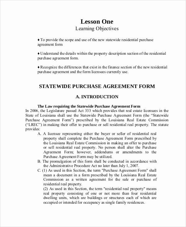 58 Printable Agreement Samples