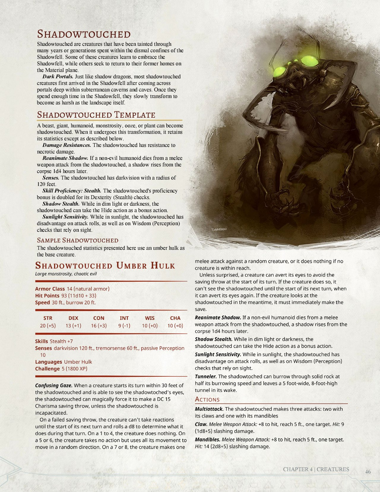 5e Zombie Template Screen Shot 2015 03 23 at Am