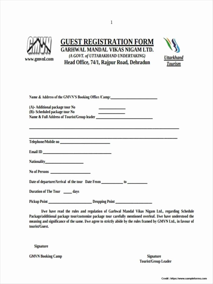 5k Registration form Template Free Templates Resume
