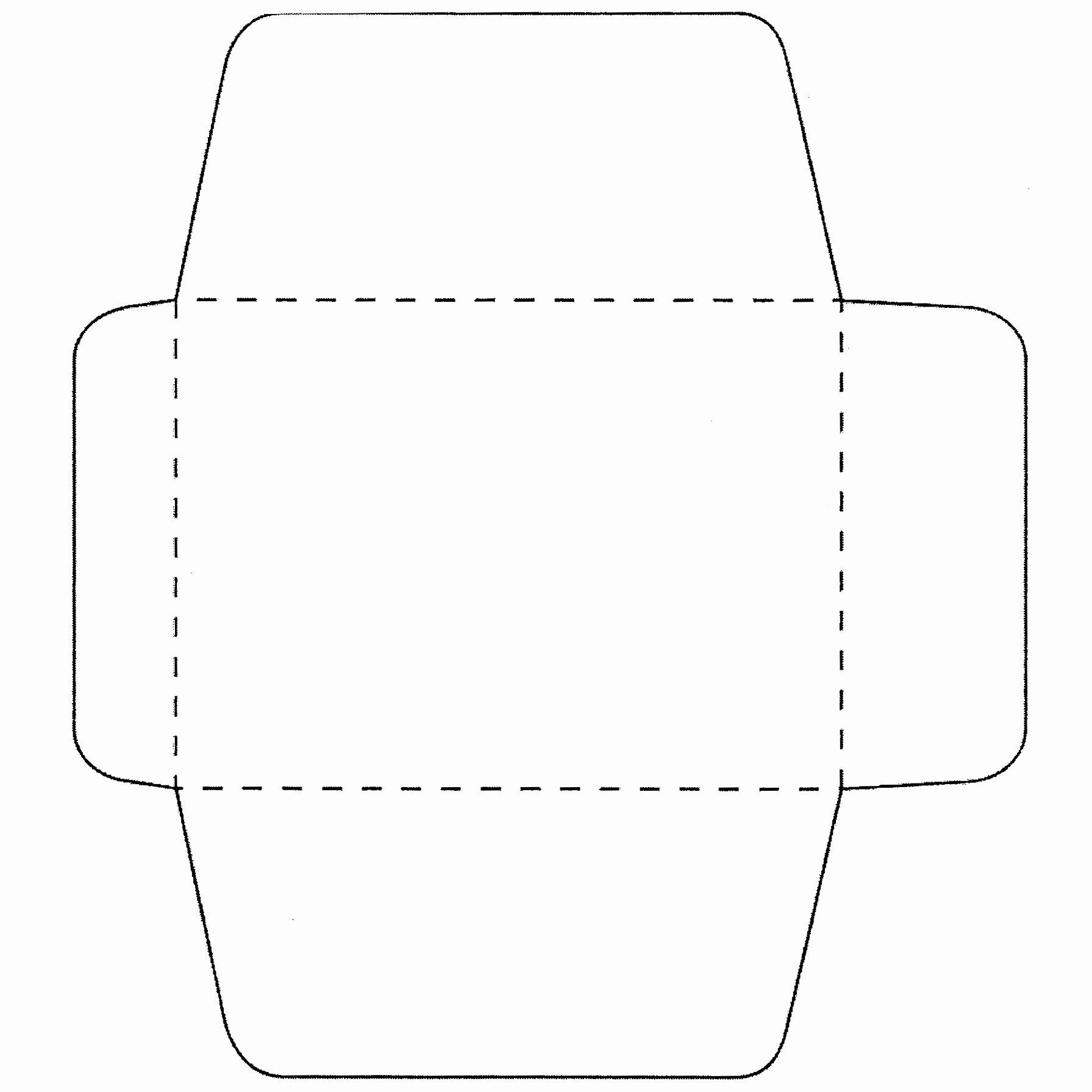 5×7 Envelope Template