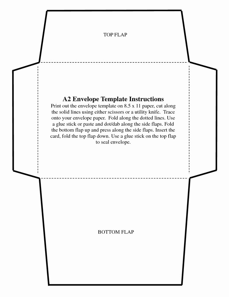 5x7 Envelope Templates Ekariouq Paper Goods