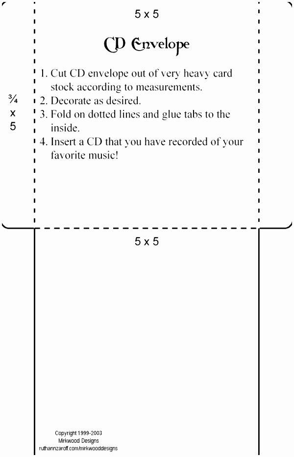 6 A7 Envelope Printing Template Doeeo